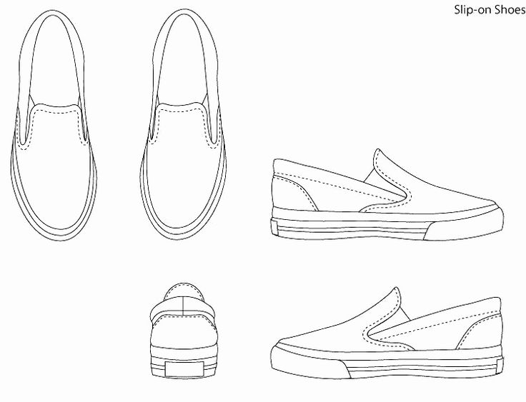 Nike Box Label Template Inspirational Free Paper Sneaker Template Nike Shoe Size Shoes Download In 2020 Shoe Template Shoes Drawing Shoes Illustration