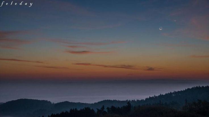 Csodás égi jelenséget fotóztak hajnalban | Sokszínű vidék