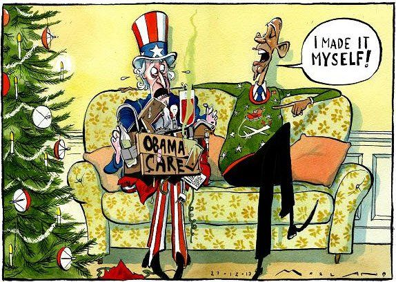 """President Obama says Obamacare is """"A Good Christmas Present"""" - Eagle Rising  12/18/14"""