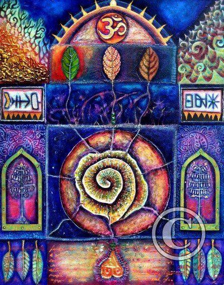 Spiral of Life by Belinda Paton