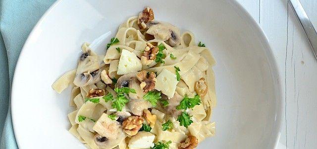 Makkelijke Maaltijd: Pasta met Gorgonzolasaus - Uit Paulines Keuken