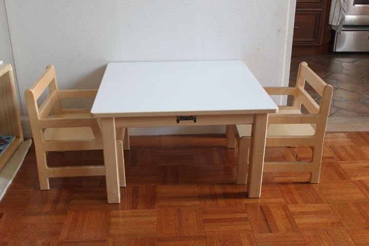 Michael Olaf Weaning Table Via Montessori On The Double