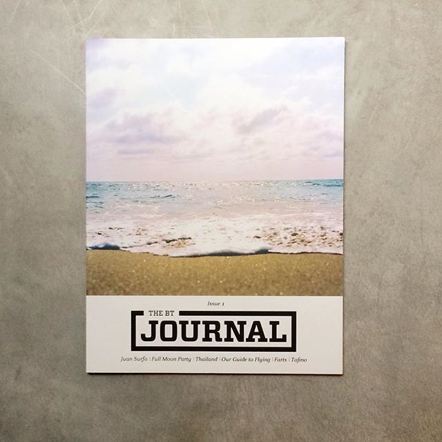 This #beach cover from our friends at @beachtravellers issue 1 makes me want to jump on a plane to a warmer place. But wait until you see the Issue 2 cover!  Editor | @thegmix - The Beach Travellers Journal.  #indiemags #publishing #print