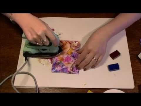 edgescapes in encaustic art - YouTube