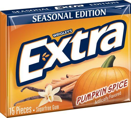 Extra Gum Now Makes Pumpkin Spice Flavor - Delish.com