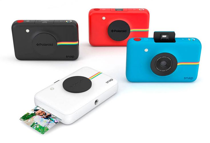 Polaroid Snap. I would like the white one.