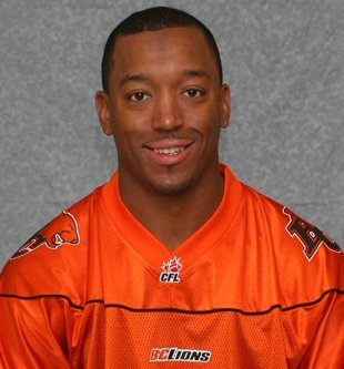 Geroy Simon - BC Lions  Simply the best ever receiver in the CFL ... 15,192 yards and counting!