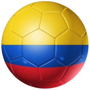 Colombia Football Flag