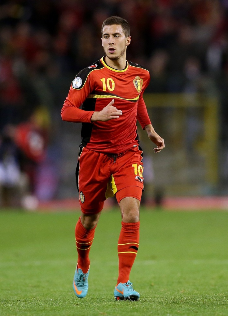 Eden Hazard is AWESOME!!!!!!! - out of this world but still Belgian- playing for Chelsea in the UK