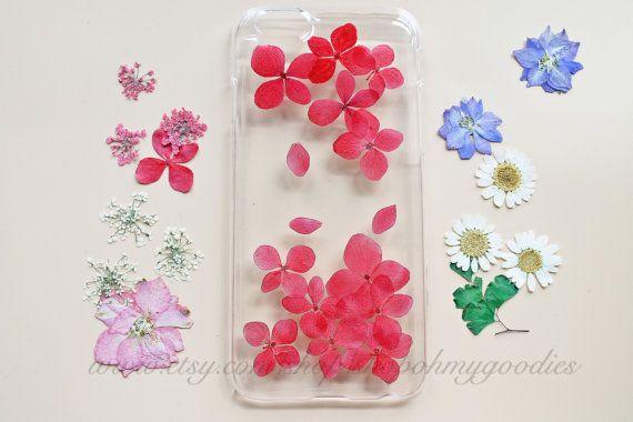iPhone 6 Case, iPhone 5s Case, iPhone 5c Case, Samsung Galaxy S5 Case, S4 Case, iPod Touch 5 Case, 6 Plus Case, Red Floral Flower Phone Case