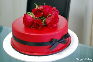 Cherry's Cakes: A Red Cake for My Birthday