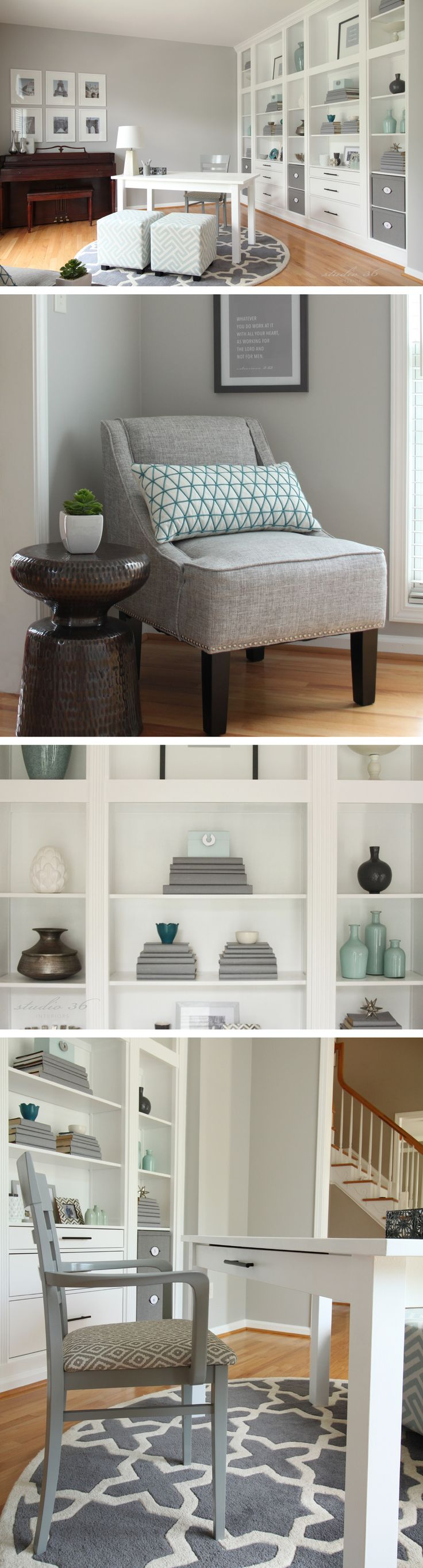 Home office makeover | Studio 36 Interiors