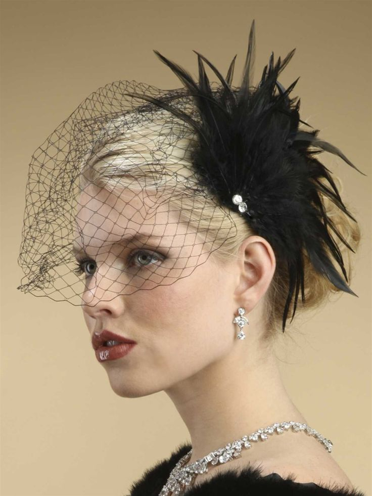 """I love the """"birdcage veil"""" over the eye. And these would be cute with our short hair hehe"""