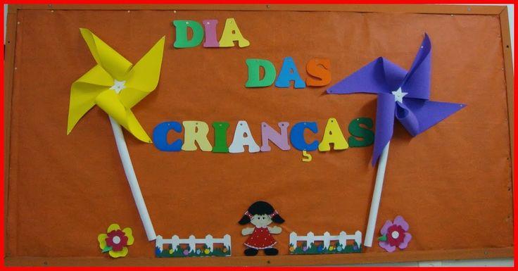 Resultado de imagem para mural dia das crianças