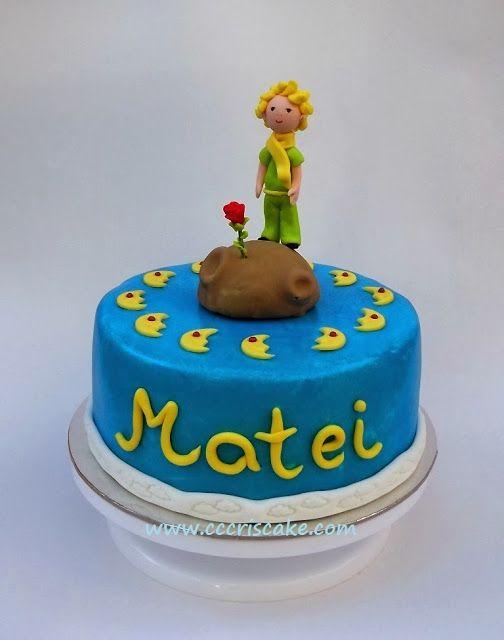 Torturi artistice: The little Prince cake