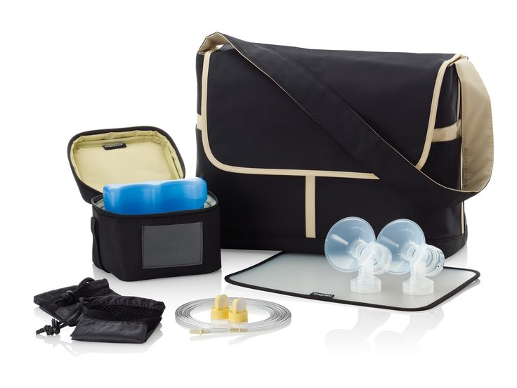 Discreet + portable = simple pumping on-the-go. #Medela bag sets add convenience to insurance-provided pumps (or allow you to refresh your Pump In Style Advanced #breastpump kit). #breastfeeding
