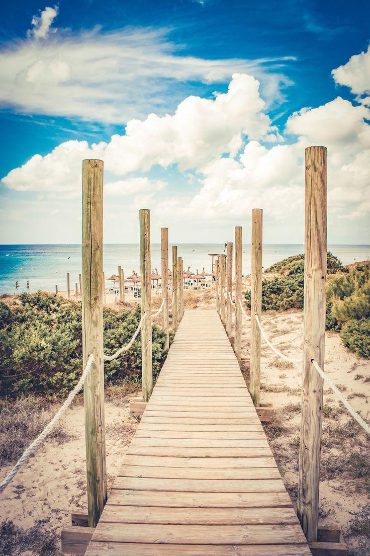 The gate of Paradise - The beach of Sant Tomas, Menorca - Spain