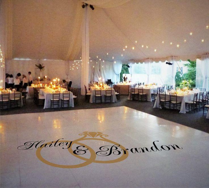 66 Best Wedding Floor Plans Images On Pinterest: 19 Best Wedding & Dance Floor Decals Images On Pinterest