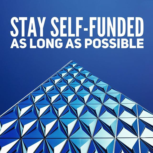 """""""Stay self-funded as long as possible."""" 💬 Garrett Camp."""