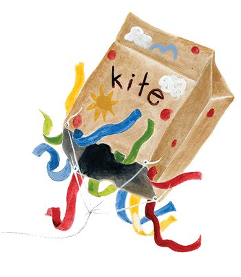 paper bag kite & other cool crafts