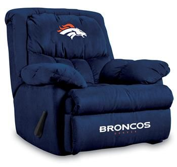 Use this Exclusive coupon code: PINFIVE to receive an additional 5% off the Denver Broncos Home Team Recliner at SportsFansPlus.com