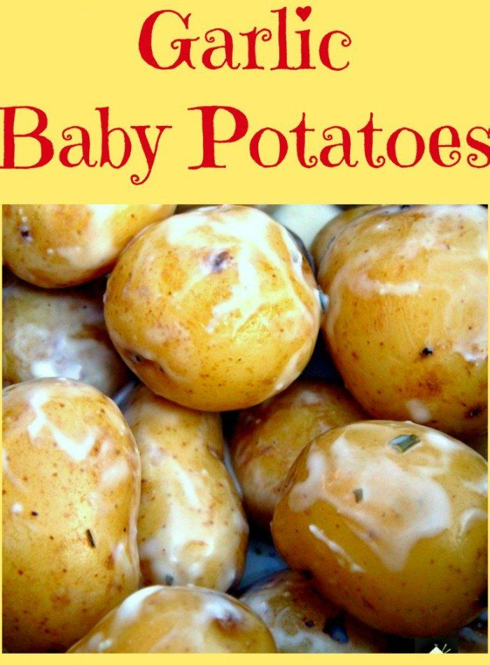 Garlic Baby Potatoes This is a wonderful easy and very ...