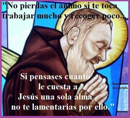 San Pío ruega x nosotros