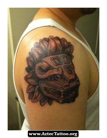 1000 images about aztec art on pinterest chicano to for Aztec lion tattoo meaning