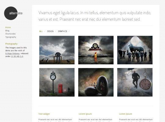 26 best Best Minimalist WordPress Themes 2014 - Awards images on ...