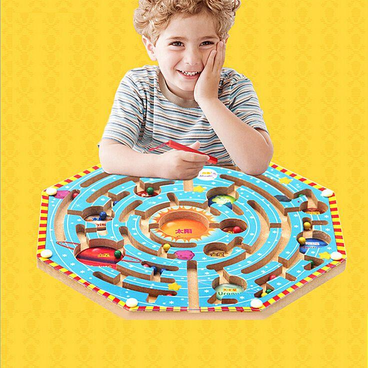 Fabriek Directe Verkoop Magnetische Doolhof Serie Vroegschoolse Educatief…