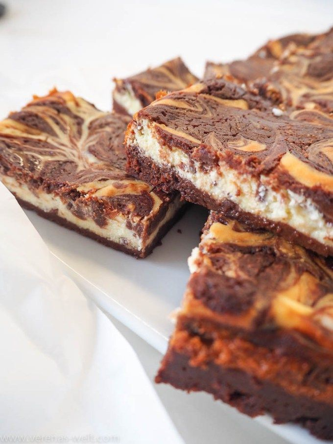Super cremige Cheesecake-Brownies