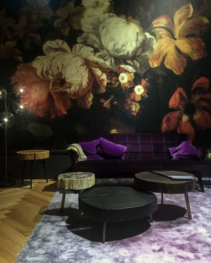 Die besten 25+ Lila samt Ideen auf Pinterest Vintage sofa, Juwel - Wandgestaltung Wohnzimmer Grau Lila