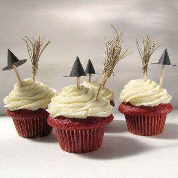 cupcakes sorcières