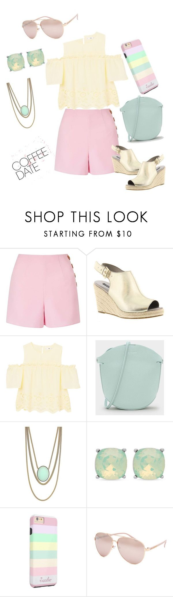 """Sunday Brunch"" by stylcents ❤ liked on Polyvore featuring Miss Selfridge, Array, MANGO, CHARLES & KEITH, Jessica Simpson, Spartina 449 and Full Tilt"
