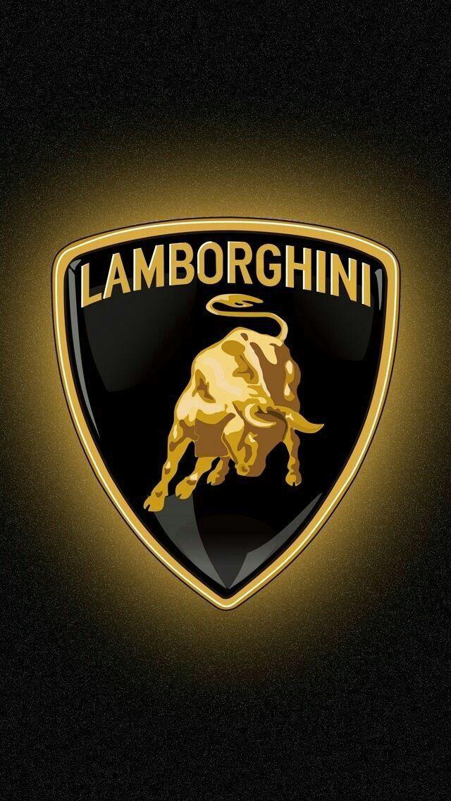 Gold Lamborghini Iphone Wallpaper Ipcwallpapers In 2020 Lamborghini Logo Luxury Car Logos Lamborghini