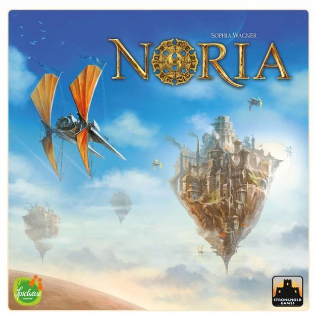 A new era is looming on the horizon. The future of Noria is right in front of you, and you must guide your flourishing trading empire into prosperity. Discover flying islands, buy ships, and build factories. Invest in prestigious projects, and secure their success by passing on secret knowledge to politicians. For even above the clouds, there is still room for improvement... Noria is the debut title from Sophia Wagner, winner of the Spiel des Jahres fellowship in 2015. The talented, young…