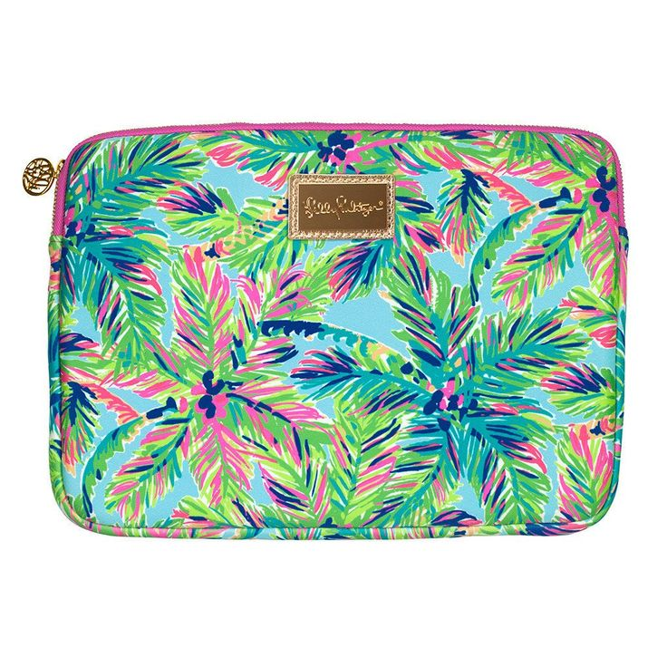 Lilly Pulitzer Island Time Tech Sleeve Perfect Holiday