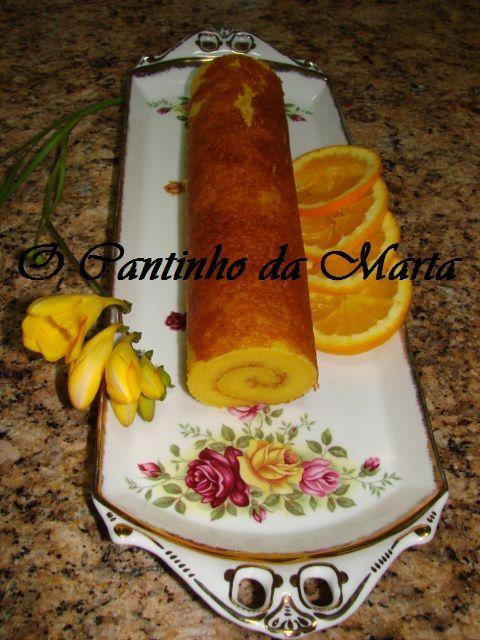 O Cantinho da Marta: Torta de Laranja do Marco com Canela