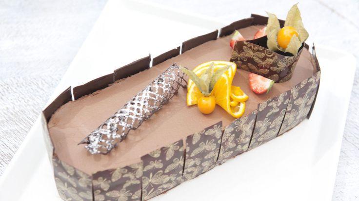 Sjekksjokolademousse-kaken som imponerte «Hele Norge baker»-dommerne