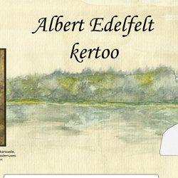 Diasarja Albert Edelfeltistä.