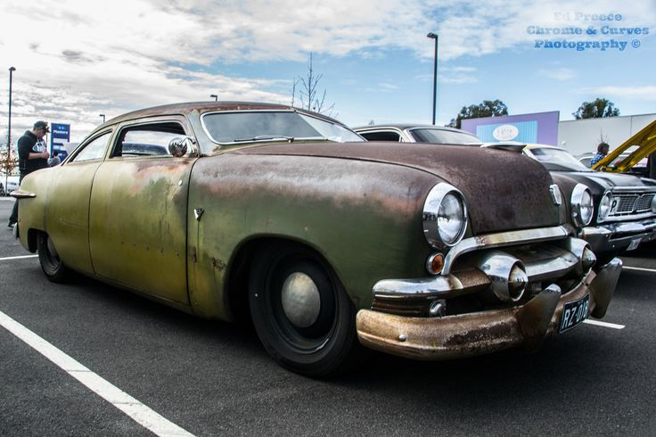 Rev's Hot Rod Shop — chromencurves:  Kustom Beater Shoebox Ford ~...