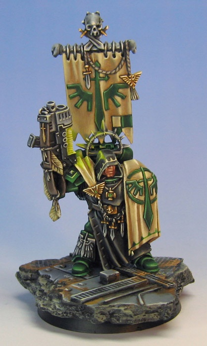 Dark Angle Captain by James Wappel #warmongers #wh40k