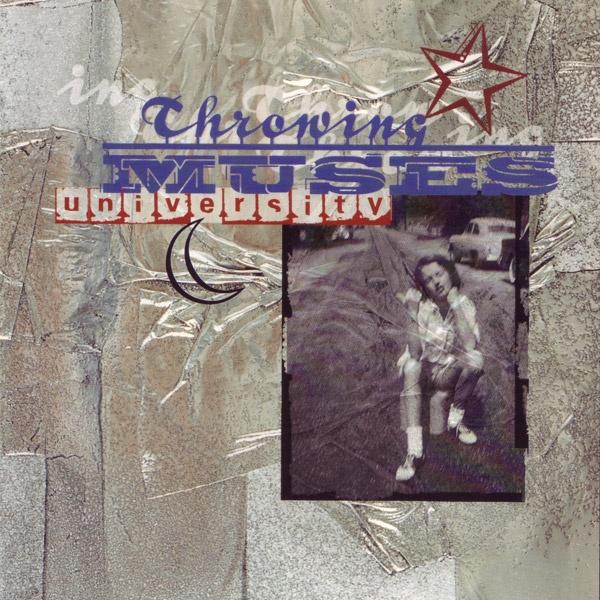 Shinro Ohtake 大竹伸朗 1995 Throwing Muses - University [4AD CAD5002CD] design: Vaughan Oliver #albumcover