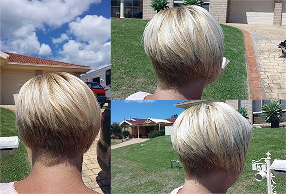 concave bob, blonde, hairserenity