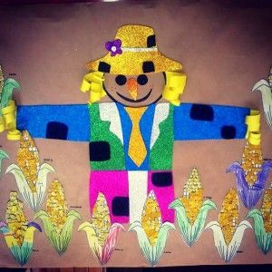scarecrow bulletin board idea (1)