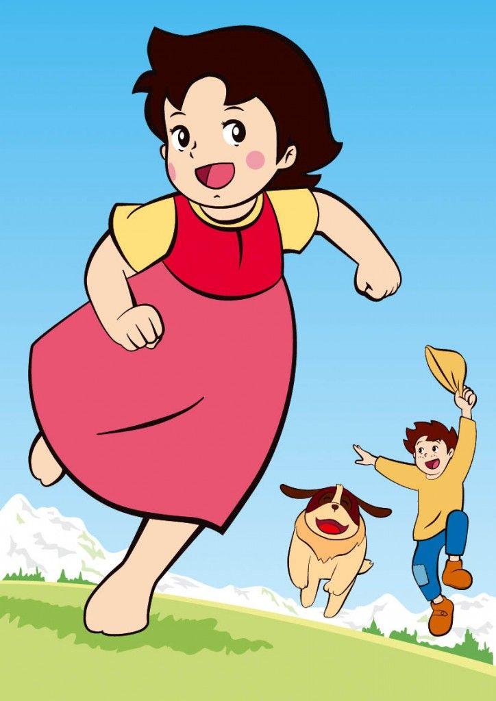 Heidi running http://heidicartoon.blogspot.in