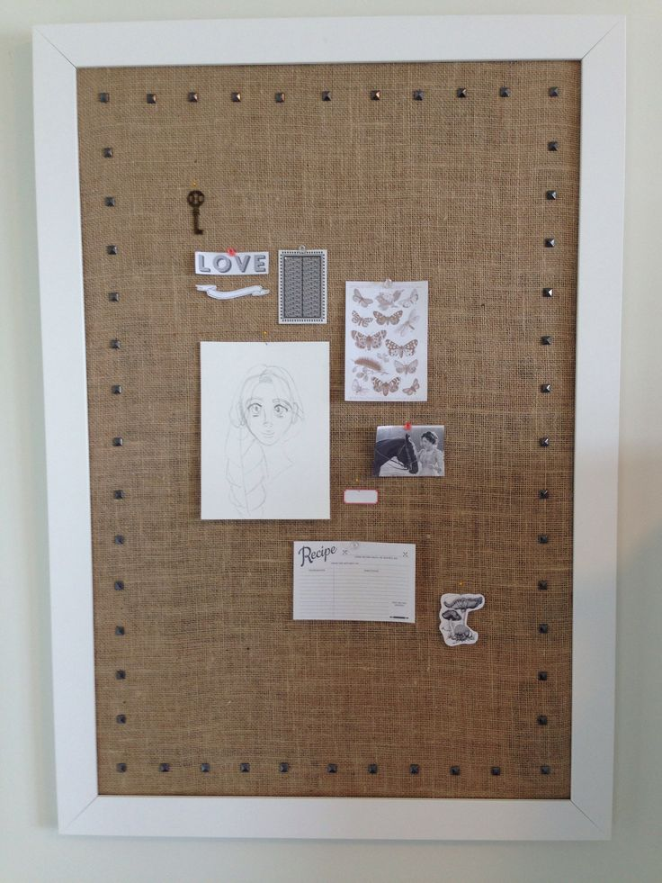 17 best images about made by me on pinterest fabric for Cork board inspiration