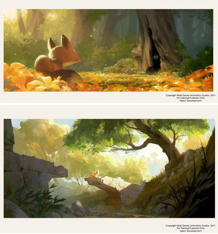 Desenvolvimento Visual e concept arts de Helen Chen | THECAB - The Concept Art Blog