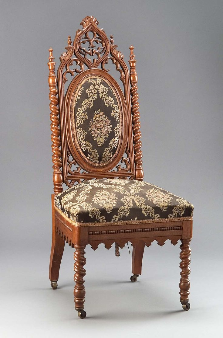 Side chair at the Museum of Fine Arts, Boston - This is an example of. Antique  Revival Furniture ... - Antique Revival Furniture Antique Furniture