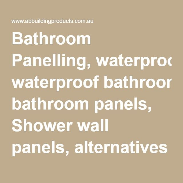 Best 25+ Waterproof wall panels ideas on Pinterest